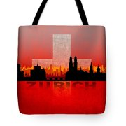 Zurich City Tote Bag