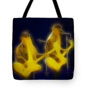 Zz Top-ant-ge8a-fractal Tote Bag
