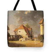 A Scene From 'the Maid Of The Mill' Tote Bag