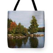 Algonquin - Canoe Lake Tote Bag