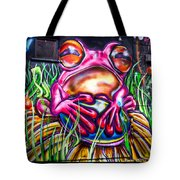 Atomic Frog Tote Bag