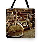 Bicycle Breakdown Tote Bag