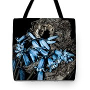 Bluebells And Log Tote Bag