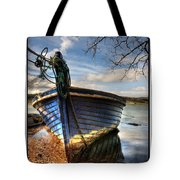 Blues - Boat Tote Bag