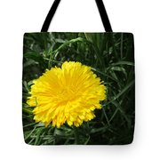 Buttery Single Yellow Flower Tote Bag