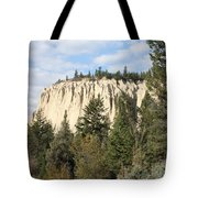 Canadian Rocky Mountain Hoodoos Bc Tote Bag