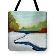 Early Winter Tote Bag