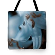 Icy Bluebells Tote Bag