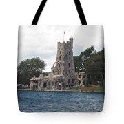 Island Castle Tote Bag