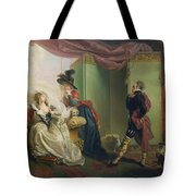 Malvolio Before Olivia - From 'twelfth Night'  Tote Bag