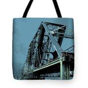Mississippi River Rr Bridge At Memphis Tote Bag
