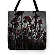 Mono Flowers Tote Bag