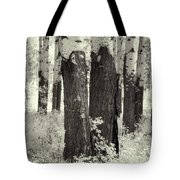 Muleshoe Trees Infra Red Tote Bag