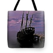 Notorious The Pirate Ship 5 Tote Bag