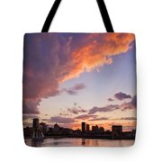 Port Of Montreal Tote Bag