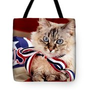 Portrait Of A Patriot Tote Bag