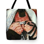 Prayer For Peace Tote Bag