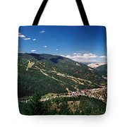 Red River In Summer Tote Bag