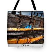 Relics - Edward Birkbeck Tote Bag