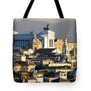 Rome's Rooftops Tote Bag