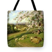 Spring - One Of A Set Of The Four Seasons  Tote Bag