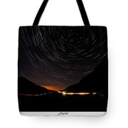 Stars And Cars Tote Bag