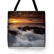Sunset Tides Tote Bag