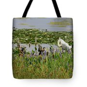 Swan And The Duck's Tote Bag