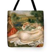 Two Bathers Tote Bag