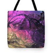 When The Night Comes Tote Bag by Linda Sannuti