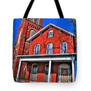 0001 The House Tote Bag