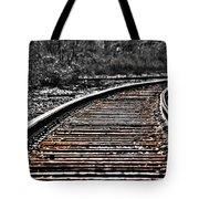 0003 Train Tracks Tote Bag