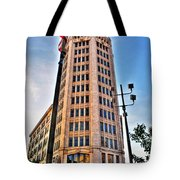 001 Electric Tower Tote Bag