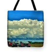 001 Grand Island Bridge Series  Tote Bag
