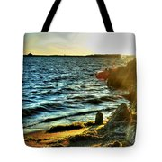 001 Natures Therapeutic Visual Music Series Tote Bag