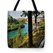 001 Niagara Gorge Trail Series  Tote Bag