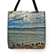 001 On A Summers Day  Erie Basin Marina Summer Series Tote Bag