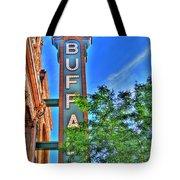 001 Sheas Buffalo Tote Bag