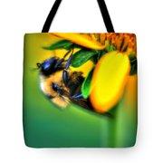001 Sleeping Bee Tote Bag
