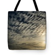 001 When Feeling Down  Pick Your Head Up To The Skies Series Tote Bag