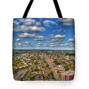 0010  Autumn Days Of Buffalo Ny Birds Eye Tote Bag