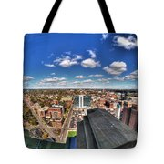 0017 Autumn Days Of Buffalo Ny Birds Eye Tote Bag