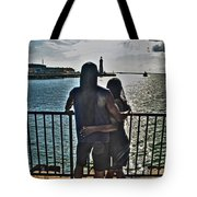 0017 The Lion And Lioness As One Tote Bag