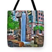 002 Fountain Plaza Tote Bag