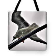 002 Gull To Out Do Wallenda Tote Bag
