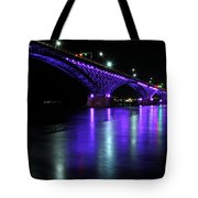 002 Peace Bridge Honoring Breast Cancer 2012 Series Tote Bag