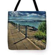 002 Peace Bridge Series II Beautiful Skies Tote Bag