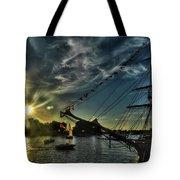 002 Uss Niagara 1813 Series  Tote Bag