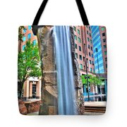003 Fountain Plaza  Tote Bag