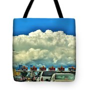 003 Grand Island Bridge Series  Tote Bag